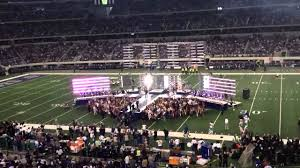2011 dallas cowboys thanksgiving halftime show