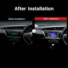 inch 2013 toyota auris android 7 1 radio dvd player gps sat navi