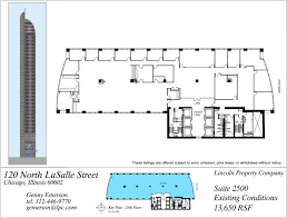 Floor Plan Company by Floor Plans 120 North Lasalle