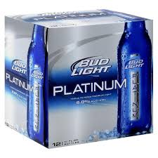 Bud Light Platinum Beer 12pk 12oz Bottles Target