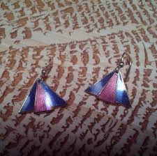 laurel burch jewelry laurel burch vintage isle of laurel burch fan earrings