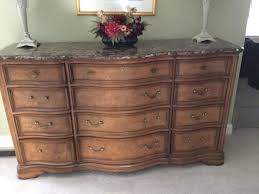Marble Top Dresser Bedroom Set Furniture Thomasville Dresser Thomasville Dining Room Sets