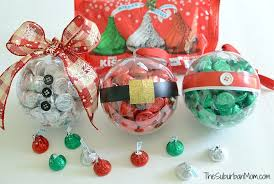 diy ornaments with hershey s kisses