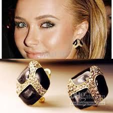 big stud earrings womens big earrings beautify themselves with earrings
