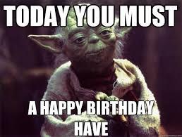 Star Wars Birthday Memes - garriga the stephenking com message board