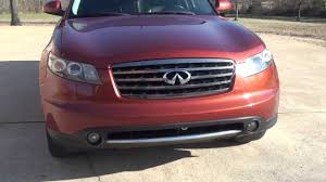 hd video 2006 infinity fx35 awd copper for sale see www