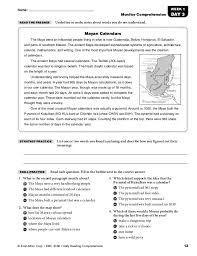 daily comprehension grade 1 answers emc 3451 28 images daily
