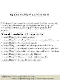 Ui Developer Resume Format Top 8 Gui Developer Resume Samples 1 638 Jpg Cb U003d1437638275