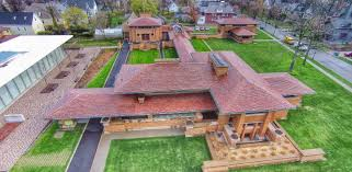 darwin martin house aerial photo frank lloyd wright s darwin martin house brooks new media