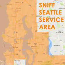 Map Of Greenlake Seattle by Sniff Seattle U0027s Service Area Helpful Map