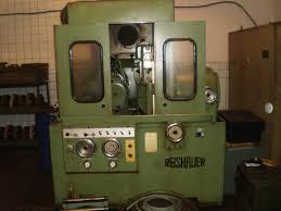 reishauer nza horizontal gear hobbing manual machine exapro