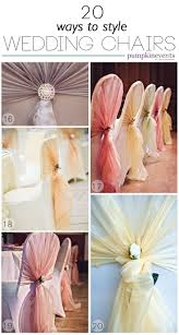 Chair Sashes Best 25 Wedding Chair Sashes Ideas On Pinterest Diy Party Chair