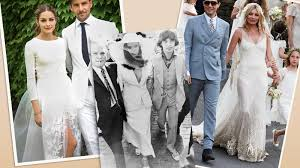 Celebrity Wedding Dresses Celebrity Wedding Dresses That Made History Stylecaster