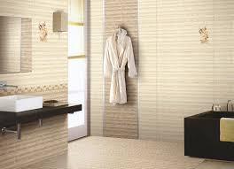 brown and white bathroom ideas small bathroom tile ideas brown stripped tiles white wash basin