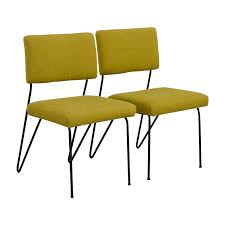 62 off furniture masters furniture masters green fabric and