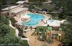 Floor Plans With Pool In The Middle by New Homes For Sale Leander 78641 Oak Creek