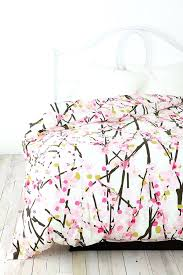 bed bath beyond duvet covers cherry blossom bedding pink set pottery barn bed