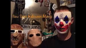 new halloween mask new spirit halloween masks youtube