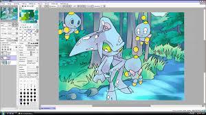water tutorial paint tool sai u0026 adobe photoshop youtube