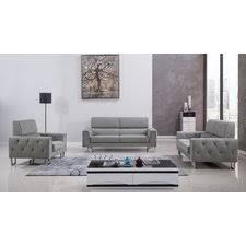 Modern Living Room Sets AllModern - Gray living room sets
