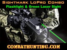 ak 47 laser light combo sm25004 sightmark lopro combo green laser and 220 lumen flashlight