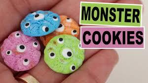 monster cookies halloween youtube