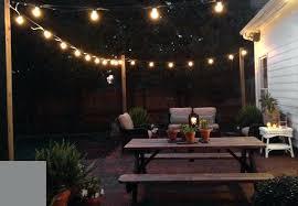 outdoor patio string lights ideas patio string lights ideas ewakurek com