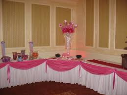 paris theme candy tables pink draping for candy table at a paris theme candy tables pink draping for candy table at a festive pink themed quinceanera