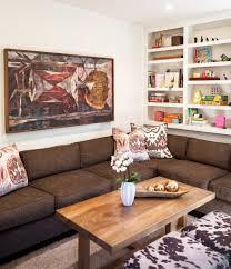 colorful and comfortable family room interior design interior