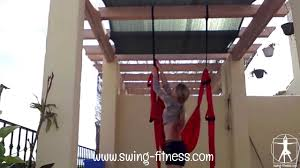 how to install a yoga swing swing fitness youtube