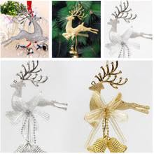 Gold Reindeer Christmas Tree Decorations by Popular Gold Reindeer Decorations Buy Cheap Gold Reindeer