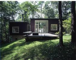 Beautiful Houses Modern Green Shadow House Design  Forest Home - Modern green home design