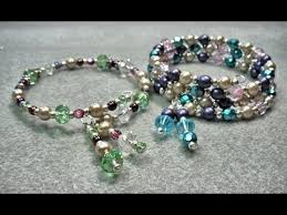 beads wire bracelet images Memory wire bracelet video tutorial jpg