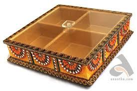 fruit boxes handmade papermache fruit box