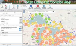 Aurora Zip Code Map by Great Lakes Fishery Commission Decision Support Tools