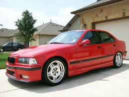 fs 1998 bmw m3 sedan 5 sp manual hellrot red dove gray forged
