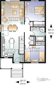 one bungalow house plans house plan w3125 detail from drummondhouseplans com