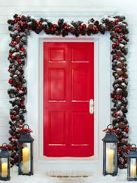 Christmas Decoration For Front Door by Home With Baxter Front Door Christmas Decorating