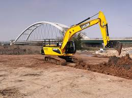 large boom excavator tracked for construction diesel js220
