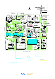 Miami Dade North Campus Map by San Jose State Campus Map My Blog