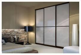 Home Decor Innovations Sliding Mirror Doors Wenge Sliding Closet Doors With White Lami Glass Toronto Space