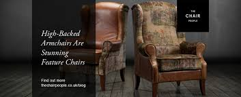 High Armchairs High Backed Armchairs Are Stunning Feature Chairs