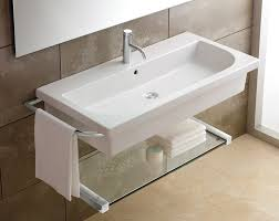 bahtroom silver crane color and nice wash basin for wall mount