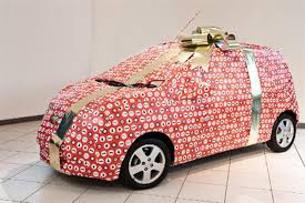 car wrapped in wrapping paper chevrolet announces spark wrapping service car news reviews