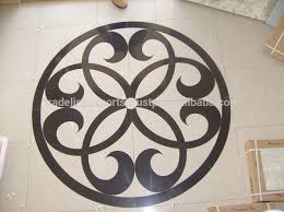 rangoli design marble inlay flooring inlaid work
