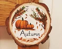 autumn decorations autumn decorations etsy uk