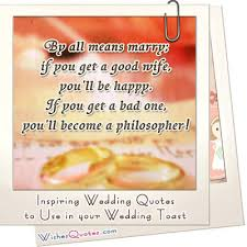 wedding quotes exles wedding quotes to use in your wedding toast