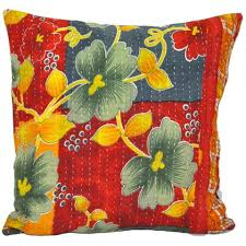 large sofa pillows vintage kantha quilted throw pillows vintage kantha pillows