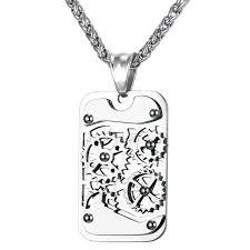 fashion pendant necklace images Fidget gear pendant necklace ess6 fashion jpg