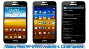 android 4 2 jelly bean update samsung galaxy note gt n7000 to android 4 1 2 jelly bean